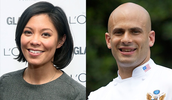She's an MSNBC anchor and her husband's Obama's personal chef.